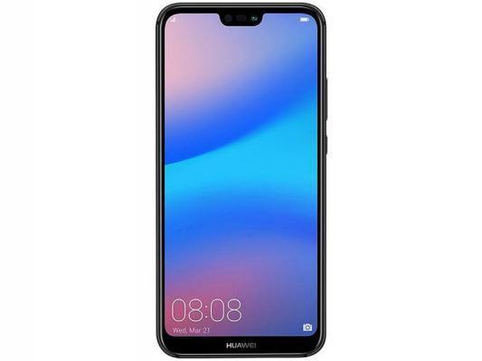 Смартфон Huawei P20 Lite 64 Гб черный (51092GYS) huawei смартфон huawei p20 black черный