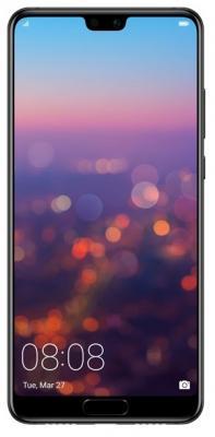 Смартфон Huawei P20 128 Гб черный (51092GXX) huawei смартфон huawei p20 black черный