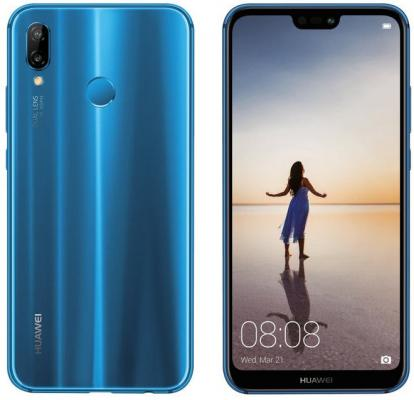 Смартфон Huawei P20 Lite 64 Гб синий (51092GYT) italians gentlemen пиджак