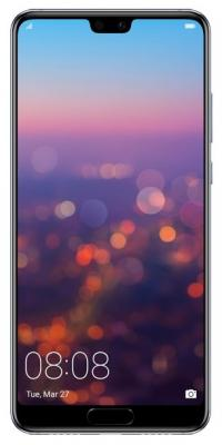 Смартфон Huawei P20 128 Гб синий (51092GXW) смартфон huawei смартфон huawei p20 pro полночный синий