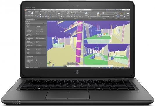 Ноутбук HP ZBook 14U G4 (1RQ70EA) hp zbook 15 g3
