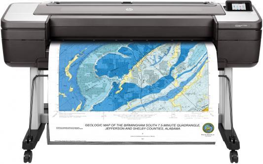 Купить со скидкой Принтер HP DesignJet T1700dr 1VD88A цветной A0 2400x1200dpi Ethernet