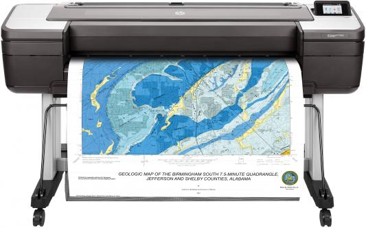 Фото - Принтер HP DesignJet T1700dr W6B56A цветной A0 2400x1200dpi Ethernet принтер hp designjet t1600 3ek10a 36 a0