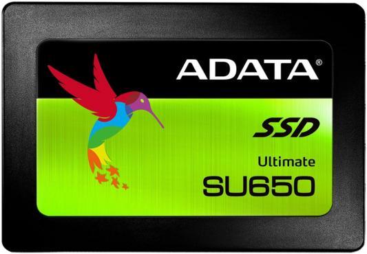 """все цены на Твердотельный накопитель SSD 2.5"""" 480Gb A-Data SU650 Read 520Mb/s Write 450Mb/s SATAIII ASU650SS-480GT-C онлайн"""