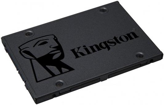 Твердотельный накопитель SSD 2.5 960Gb Kingston SSDNow A400 Read 500Mb/s Write 450Mb/s SATAIII SA400S37/960G kingston kc1000 960gb ssd накопитель