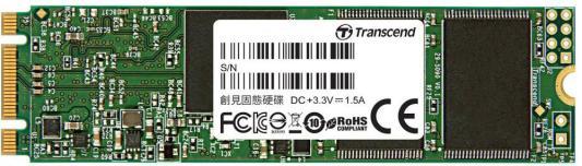 Твердотельный накопитель SSD M.2 120Gb Transcend MTS820 Read 560Mb/s Write 480mb/s SATAIII TS120GMTS820S твердотельный накопитель ssd 2 5 120gb kingston ssdnow a400 read 500mb s write 320mb s sataiii sa400s37 120g