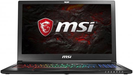 Ноутбук MSI GS63 7RD-064RU Stealth (9S7-16K412-064) ноутбук msi gs63vr 7rf 409ru 9s7 16k212 409 9s7 16k212 409