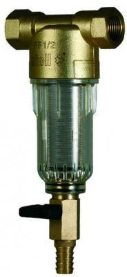 Сетчатый фильтр atoll AFF-1/2C в блистере, прозр. пластик, хол. вода (аналог FF06-1/2AA)