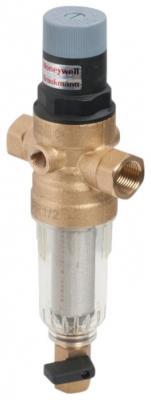 Сетчатый комбинированный фильтр atoll AFRF-1/2C  прозр. пластик, хол. вода (аналог FK06-1/2AA)