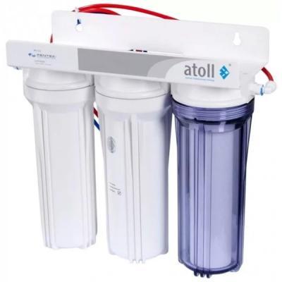 Ультрафильтрационный трёхступенчатый фильтр atoll U-31 STD (P-5, GAC-10, UF-10) набор фильтрэлементов atoll 309 для u 31 std