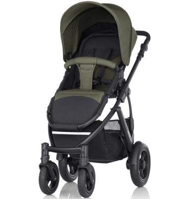 Коляска прогулочная Britax Smile 2 (olive denim) коляска britax romer b motion 4 olive denim 2000027966