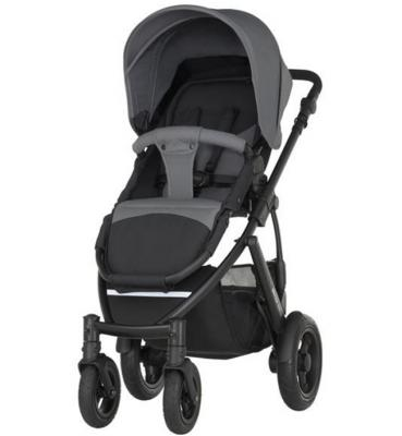 Коляска прогулочная Britax Smile 2 (steel grey) коляска прогул alf i smile line al 04 серый фиолетовый