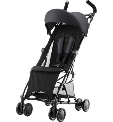 Купить Коляска прогулочная Britax Holiday (cosmos black), черный, Прогулочные коляски