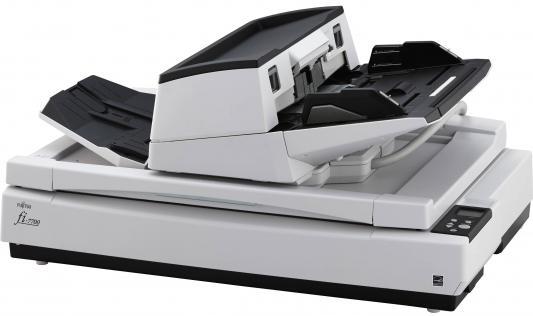 Сканер Fujitsu fi-7700S протяжный A3 600x600 dpi CCD 58ppm PA03740-B301 сканер проекционный a3 fujitsu scansnap sv600