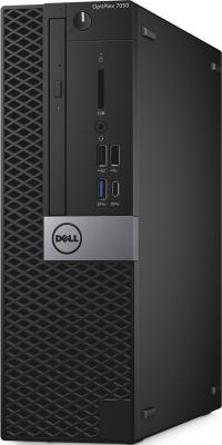 Системный блок DELL Optiplex 7050 SFF i7-6700 3.4GHz 8Gb 1Tb 256Gb SSD R5 430-2Gb DVD-RW Win7Pro Win10Pro черный 7050-4877 настольный пк dell optiplex 7050 sff 7050 4360 7050 4360
