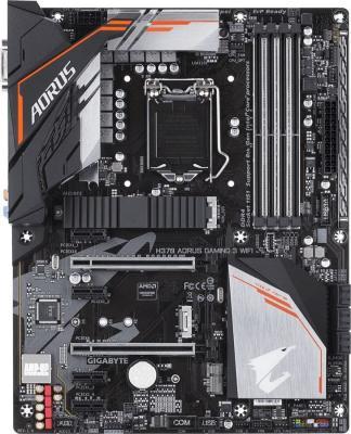 Материнская плата GigaByte H370 AORUS GAMING 3 WIFI Socket 1151 v2 H370 4xDDR4 2xPCI-E 16x 4xPCI-E 1x 6 ATX Retail