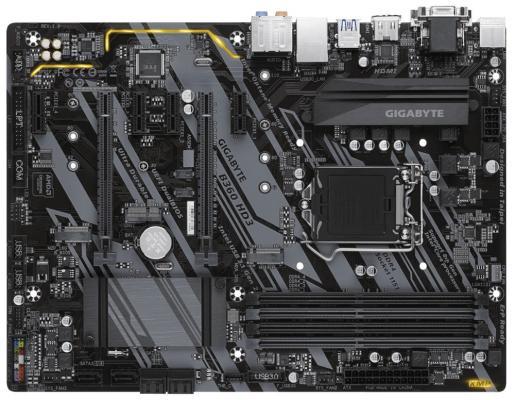 Мат. плата для ПК GigaByte B360 HD3 Socket 1151 v2 B360 4xDDR4 2xPCI-E 16x 4xPCI-E 1x 6xSATAIII ATX Retail запонка arcadio rossi запонки со смолой 2 b 1026 20 e