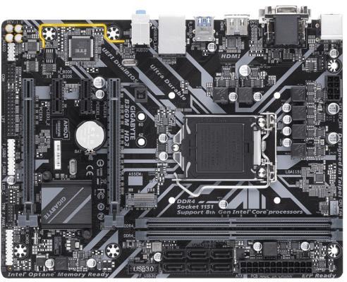 Материнская плата GigaByte B360M HD3 Socket 1151 v2 B360 2xDDR4 2xPCI-E 16x 2xPCI-E 1x 6 mATX Retail материнская плата gigabyte b360m aorus gaming 3 socket 1151 v2 b360 4xddr4 2xpci e 16x 1xpci e 1x 6 matx retail