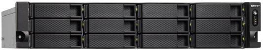 Сетевое хранилище QNAP TS-1273U-8G 12x2,5 / 3,5 рэковое сетевое хранилище rack nas qnap ts 531x 8g ts 531x 8g