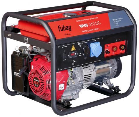 Электростанция сварочная WHS 210 DC (Honda_220В) бензиновая бензиновая электростанция fubag hs 2500