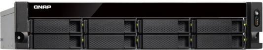 Сетевое хранилище QNAP TS-853BU-RP-8G 8x2,5 / 3,5 рэковое сетевое хранилище rack nas qnap ts 463u rp 4g ts 463u rp 4g