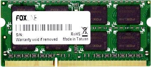 Оперативная память для ноутбуков SO-DDR4 8Gb PC4-19200 2400MHz DDR4 DIMM Foxline FL2400D4S17S-8G корпус miditower atx 450w usb black fl 922 fz450r foxline