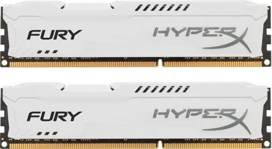Оперативная память 16Gb (2x8Gb) PC4-25600 3200MHz DDR4 DIMM CL18 Kingston HX432C18FW2K2/16 оперативная память kingston kvr24r17s4 16