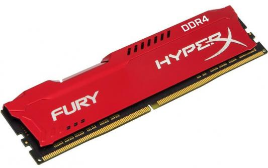 Оперативная память 16Gb PC4-27700 3466MHz DDR4 DIMM CL19 Kingston HX434C19FR/16 модуль памяти kingston hyperx fury white ddr4 dimm 3466mhz pc 27700 cl19 16gb hx434c19fw 16