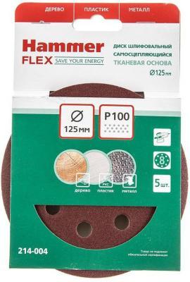 Шлиф. круг самосцепл. Hammer Flex 214-004 Д125мм 8отв. Р 100, набор 5 шт п а ровинский черногория в ее прошлом и настоящем