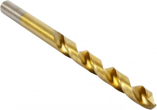 Сверло HAMMER Flex 202-118 DR MT 8,0мм*117/75мм металл, DIN338, HSS-G, TIN сверло hammer flex 202 111 dr mt 4 5мм 80 47мм металл din338 hss g tin