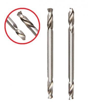 Сверло HAMMER Flex 202-132 DR MT 2,5мм*51 двухстороннее, металл, HSS-6542, 2шт. сверло hammer flex 202 137 dr mt 4 0мм 51 двухстороннее металл hss 6542