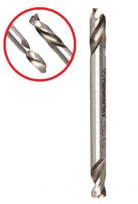 Сверло HAMMER Flex 202-137 DR MT 4,0мм*51 двухстороннее, металл, HSS-6542 сверло hammer flex 202 137 dr mt 4 0мм 51 двухстороннее металл hss 6542