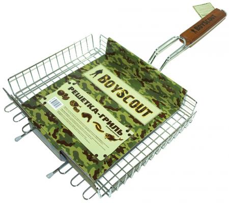 BOYSCOUT Решетка-гриль универсальная 62 5x30x25x5,5cм решетка для гамбургеров boyscout 61346