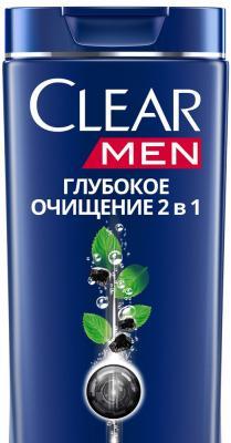 Шампунь-бальзам Clear Глубокое очищение 400 мл 67115805 пижама losan losan lo025ebwmp03