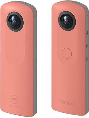 Экшн-камера Ricoh Theta SC розовый
