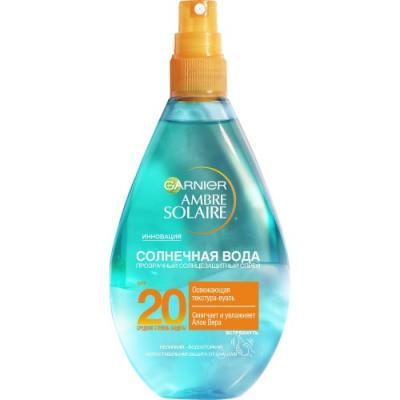 GARNIER AMBRE SOLAIRE Солнечная вода SPF20 150мл