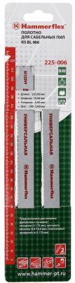Полотно для сабельных пил Hammer Flex 225-006  S1122VF 225x19x0.90мм дер/мет/пласт (2шт)