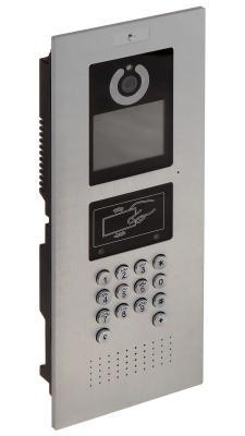 Многоабонентская вызывная IP панель Dahua DHI-VTO1220A игрушка азбукварик 81544 часики мой динозаврик