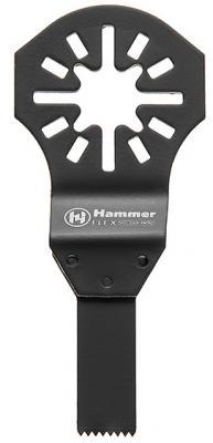 Полотно пильное для МФИ Hammer Flex 220-013 MF-AC 013  погружное ступенчатое, BiM, 10мм, дерево/мет