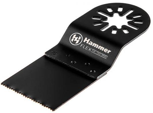 Полотно пильное для МФИ Hammer Flex 220-038 MF-AC 038 погружное, BIM, 32,5*32,5*30мм, металл/дерево полотно пильное для мфи hammer flex 220 037 mf ac 037 погружное 34 34 92мм твердое дерево