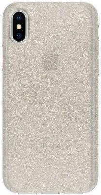 Накладка Incipio Design Series Classic - Champagne Glitter для iPhone X IPH-1651-CHG glitter criss cross design sandals