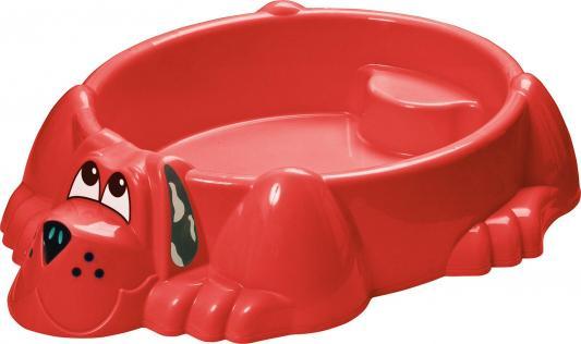 Песочница-бассейн - Собачка (красный)