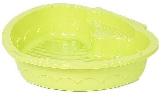 Песочница-бассейн - Сердечко (светло-зеленый)