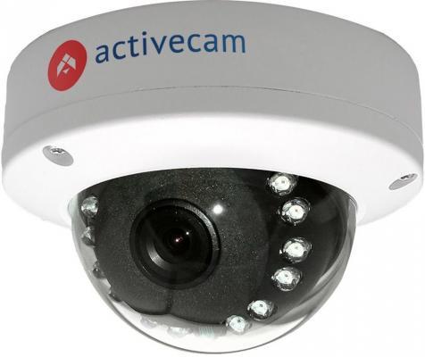Видеокамера ActiveCam AC-D3121IR1 CMOS 1/2.9 2.8 мм 1920 x 1080 H.264 RJ-45 LAN PoE белый видеокамера ip activecam ac d2121wdir3 1 9 мм белый
