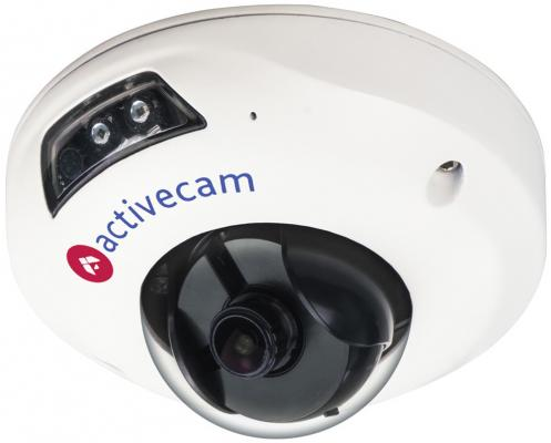 Видеокамера ActiveCam AC-D4111IR1 CMOS 1/3 3.6 мм 1280 x 960 H.264 RJ-45 LAN PoE белый видеокамера ip activecam ac d2121wdir3 1 9 мм белый