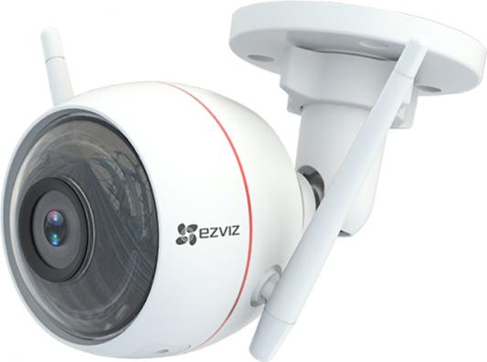 Камера IP EZVIZ CS-CV310-A0-3B1WFR CMOS 1/2.7 4 мм 1280 x 720 H.264 RJ-45 Wi-Fi PoE белый c101 0 3mp 1 4 cmos p2p surveillance ip network camera with wi fi tf