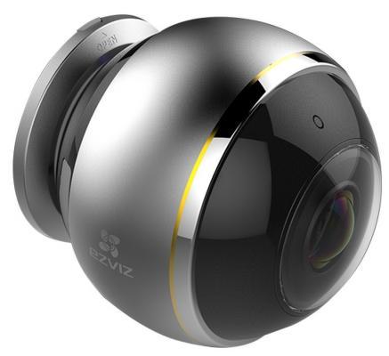 "Камера IP EZVIZ Mini Pano CMOS 1/2.8"" 1.2 мм 1344 х 1344 H.264 Wi-Fi серый CS-CV346-A0-7A3WFR"