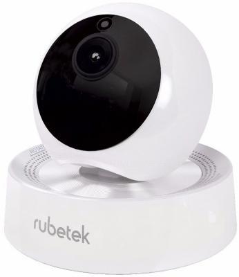 Видеокамера Rubetek RV-3407 CMOS 1/4 3.6 мм 1280 x 720 H.264 RJ-45 LAN Wi-Fi белый видеокамера ip activecam ac d2121wdir3 1 9 мм белый
