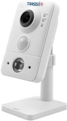 Видеокамера IP Trassir TR-D7101IR1 3.6-3.6мм цветная корп.:белый видеокамера ip activecam ac d2121wdir3 1 9 мм белый