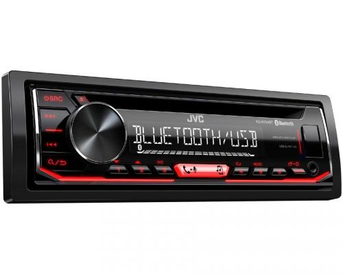 Автомагнитола JVC KD-R794BT USB MP3 CD FM RDS 1DIN 4x50Вт черный